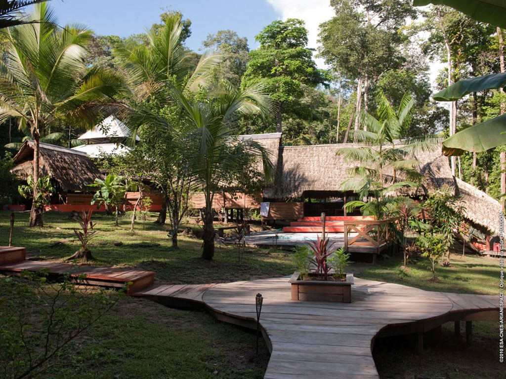Camp Cariacou à Kourou