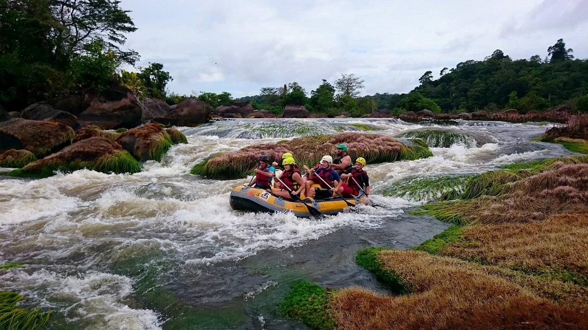 Rafting en Guyane